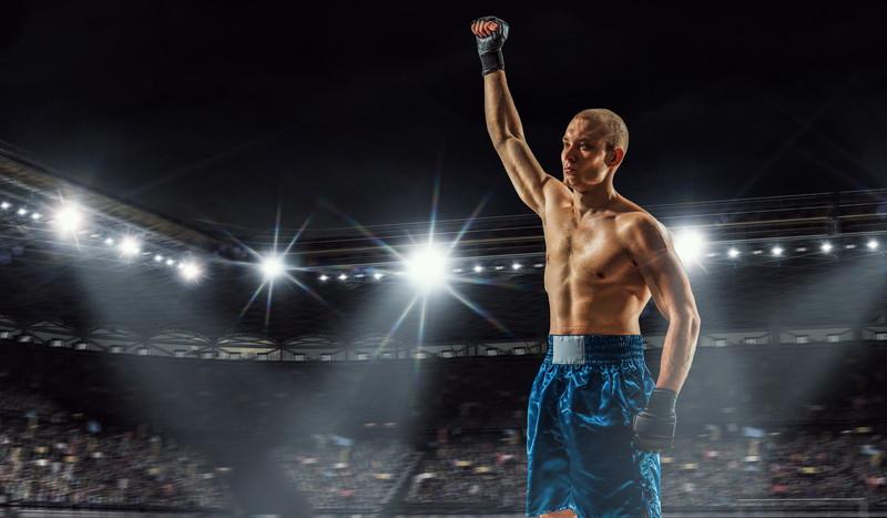 ボクシングのタイトルマッチ